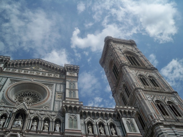 I wasn't impressed with Rome, but I adored Florence.