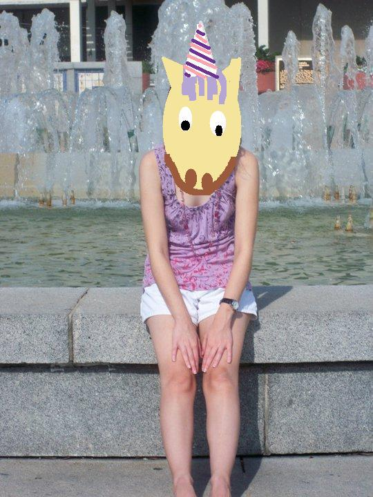That is me, as a unicorn, in New Orleans.