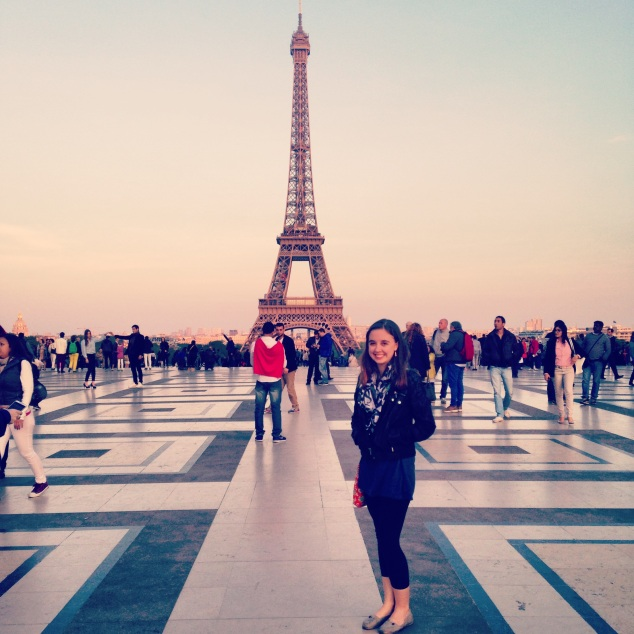 A lifelong dream came true when I saw the Eiffel Tower.