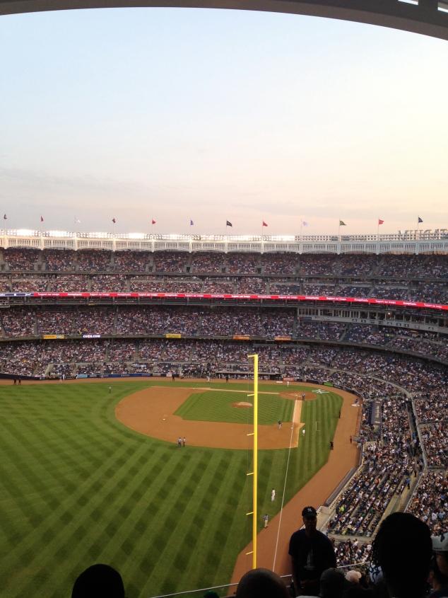 Yankee Stadium, July 2014