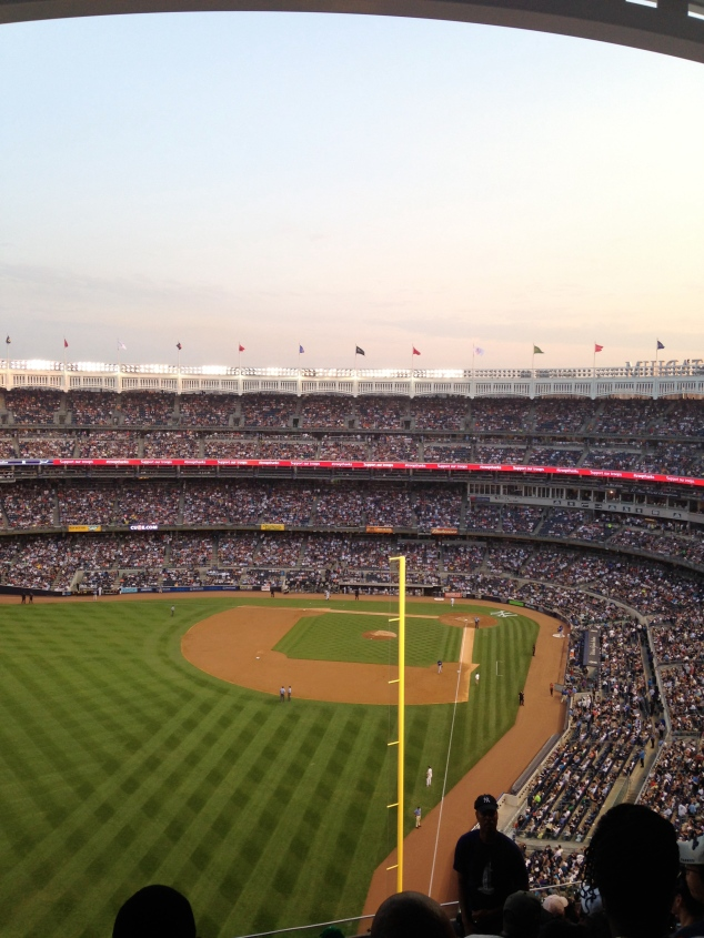Yankee Stadium, July 2014