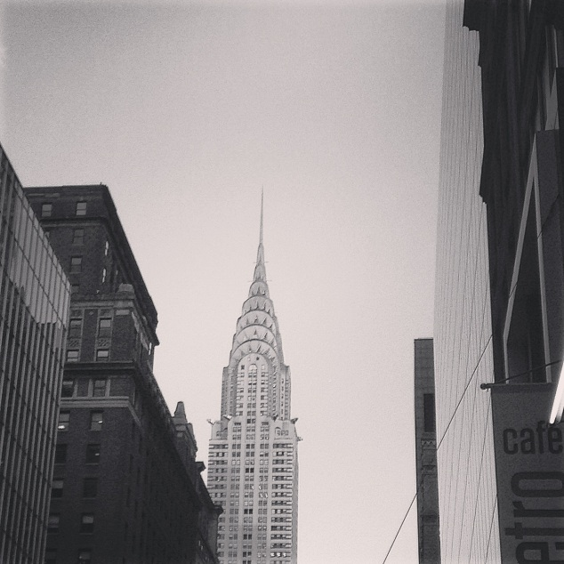 Instagram Chrysler building