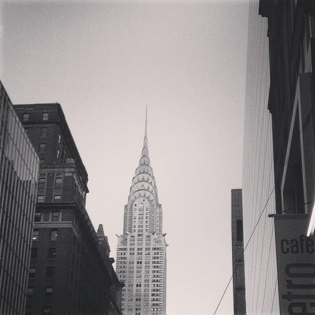 Instagram Chrysler building