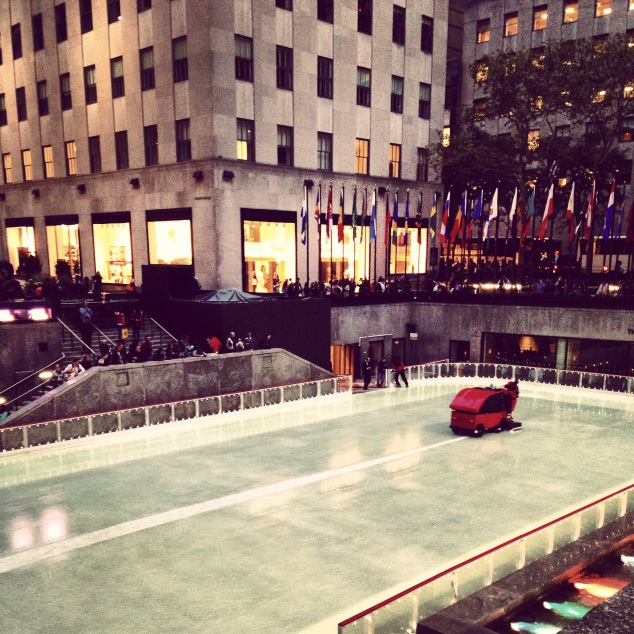 Instagram skating rink