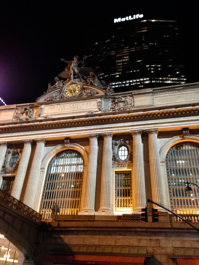 Even if you don't travel through, just seeing Grand Central is a must.