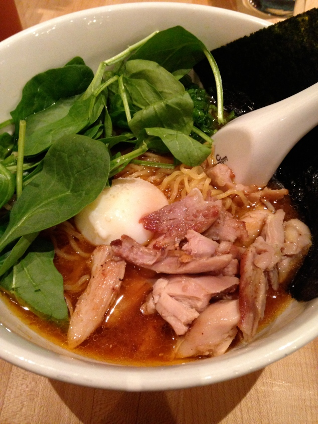 Ramen at Momofuku Noodle Bar in the East Village: Necessary to get through winter!