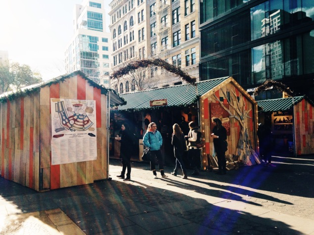 The Union Square Holiday Market 2015