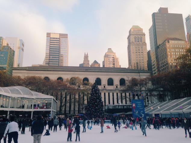The Bank of America Winter Village at Bryant Park 2015