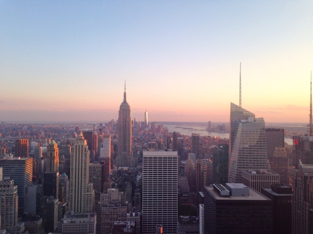 New York City as seen from the Top of the Rock