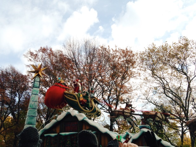 Santa Claus at the 2015 Macy's Thanksgiving Day Parade