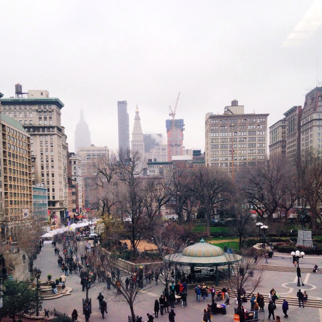 Union Square as seen from DSW