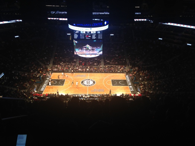 Brooklyn Nets and Utah Jazz at Barclays Center