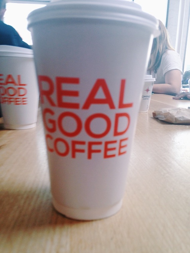 Real good coffee at Compass, Washington D.C.