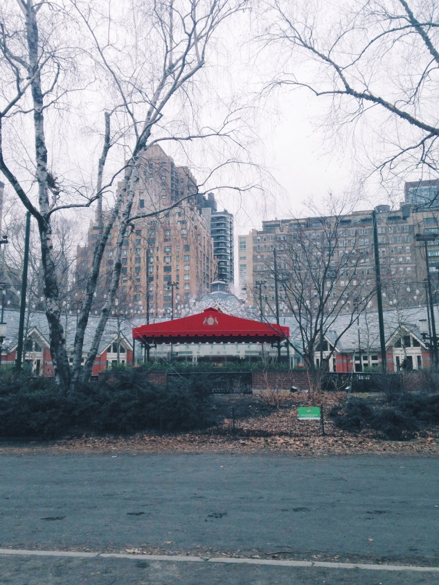 Tavern on the Green, Central Park NYC in the winter