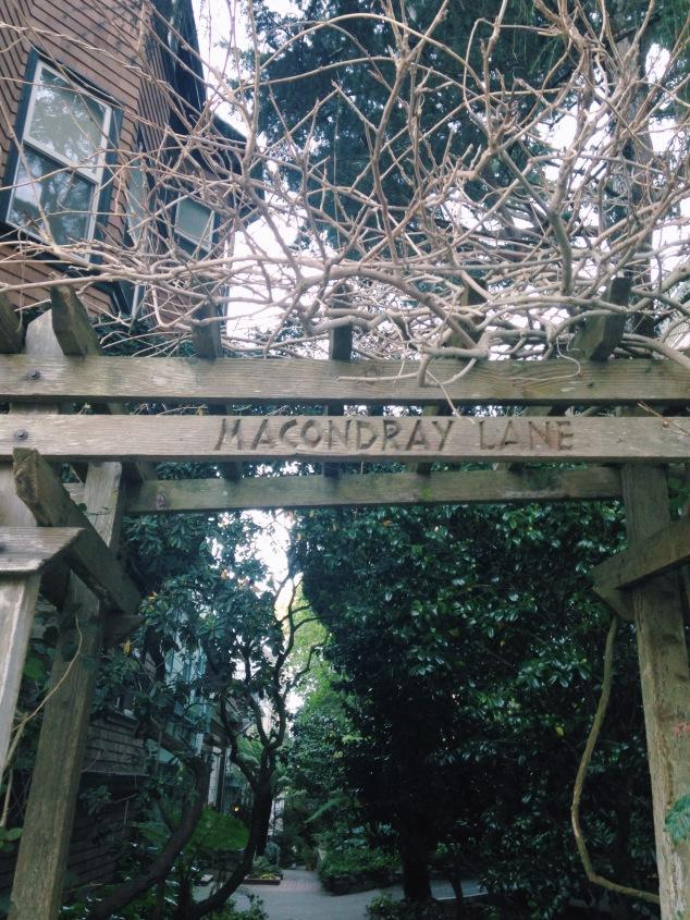 Macondray Lane, San Francisco