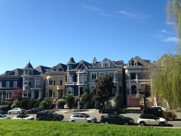 Houses near Alamo Square, San Francisco