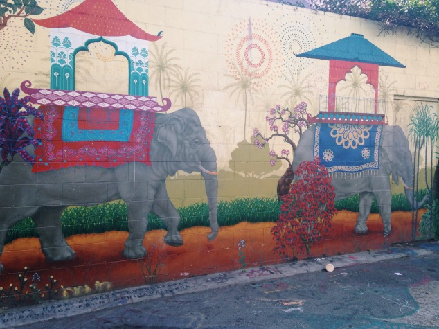 Street art in San Francisco's Mission District