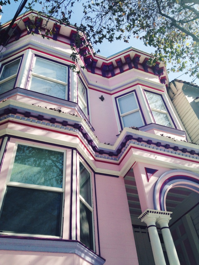 House in the Mission District, San Francisco