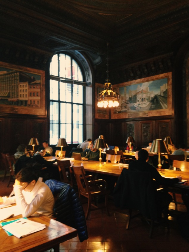 Behind the scenes at the New York Public Library