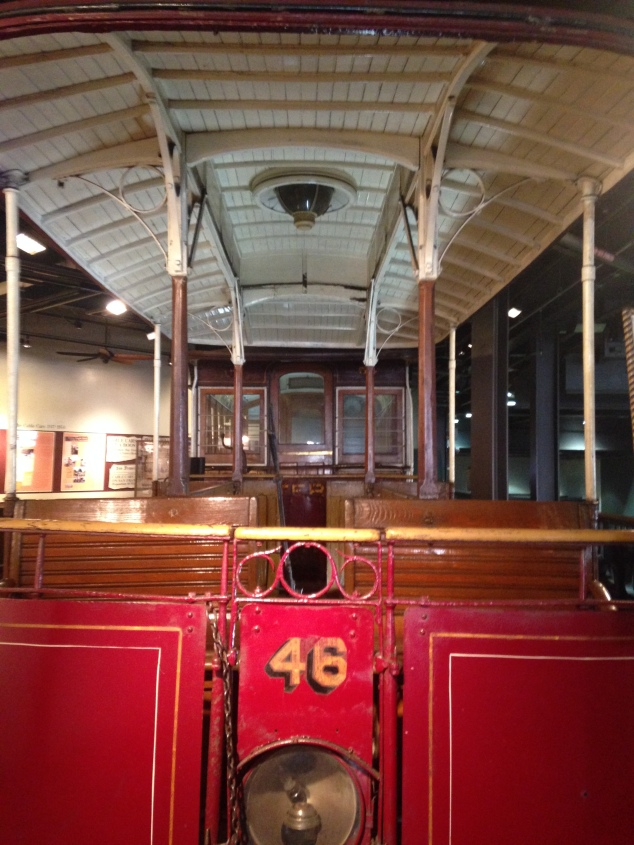 At the Cable Car Museum in San Francisco