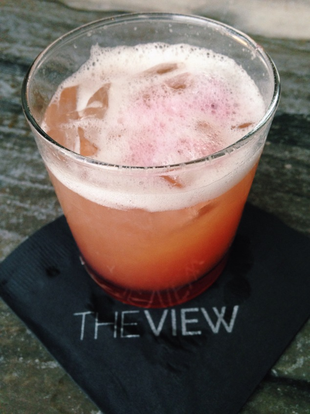 Cocktail at The View in San Franciso