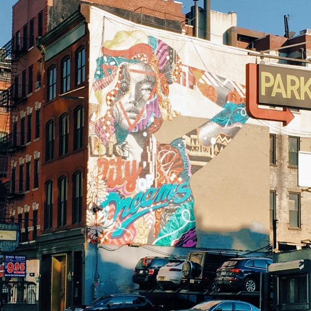 City of Dreams mural, New York City
