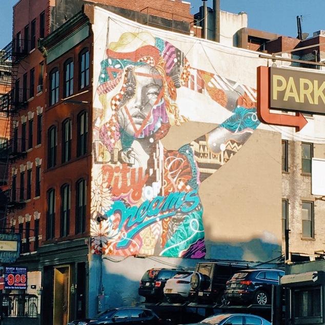 City of Dreams mural, New York City