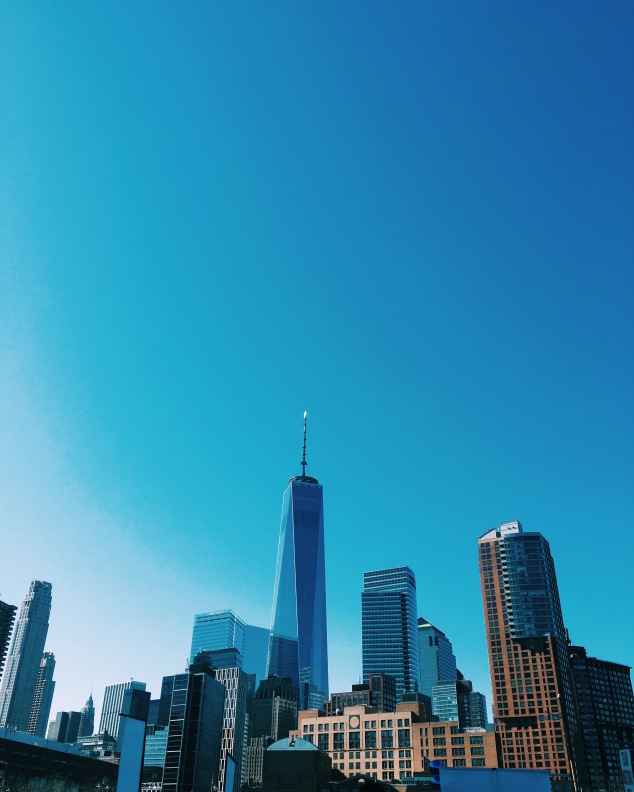 New York City Freedom Tower from Tribeca