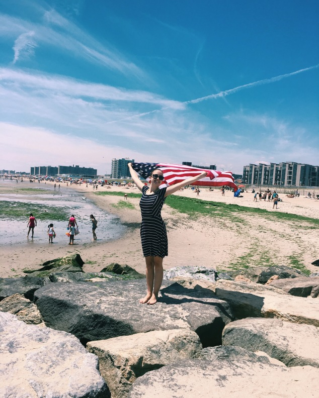 Fourth of July at Rockaway Beach
